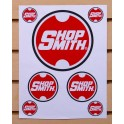 Shopsmith Logo Sticker Sheet