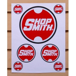 Shopsmith Logo Sticker Sheet