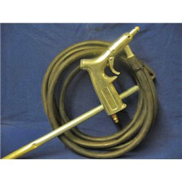 Compressed air sand blaster kit