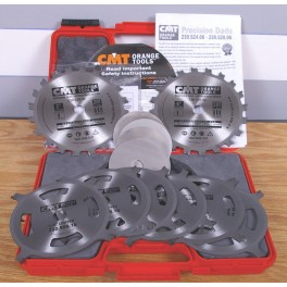 "CMT 6"" Carbide-Tipped Stack Dado Set"