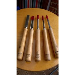 Set of 5 Lathe Chisel by Shopsmith