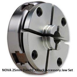 "NOVA 25mm (1"") Chuck Accessory Jaw Set"