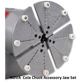NOVA Cole Chuck Accessory Jaw Set