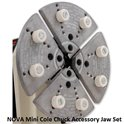 NOVA Mini Cole Chuck Accessory Jaw Set