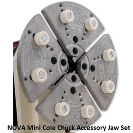 NOVA Mini Cole Chuck Accessory Jaw Set