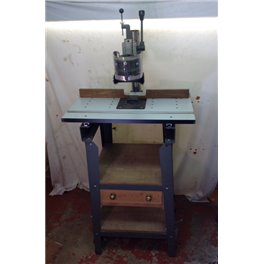Shopsmith overarm pin router used with table shopsmith overarm pin router table now sold keyboard keysfo Choice Image