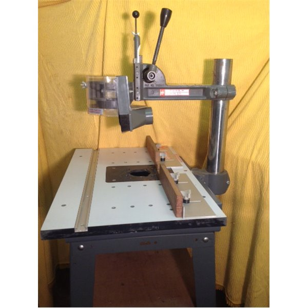 Shopsmith overarm pin router used with table shopsmith overarm pin router table keyboard keysfo Choice Image