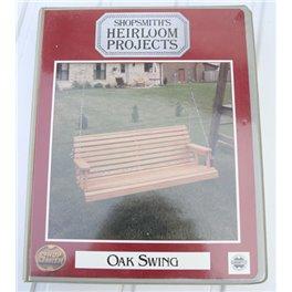 Shopsmith Heirloom Projects Oak Swing