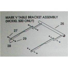 Mark V 500 Support Table Hardware pack inc 27-29