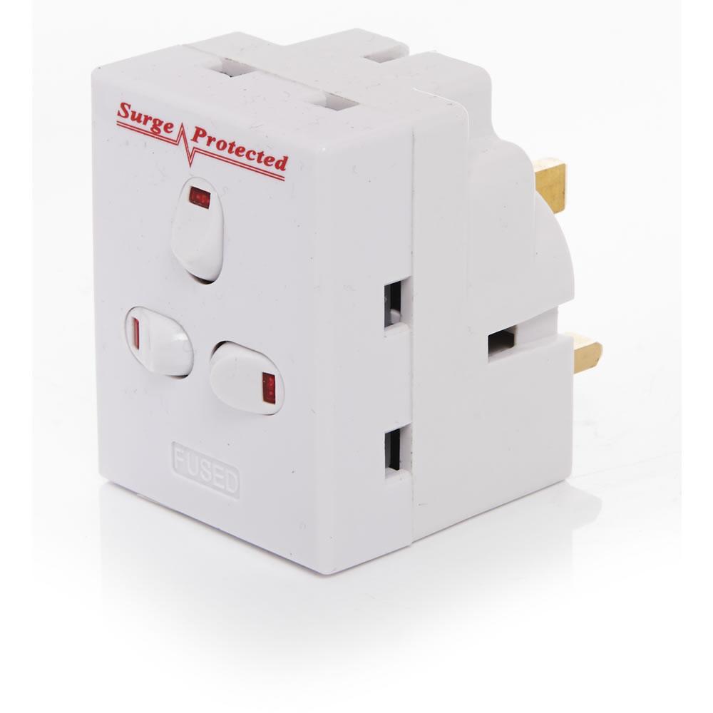Surge protection plug