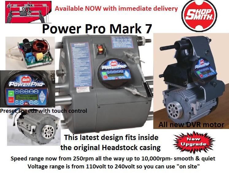Mark 7 Power Pro Headstock