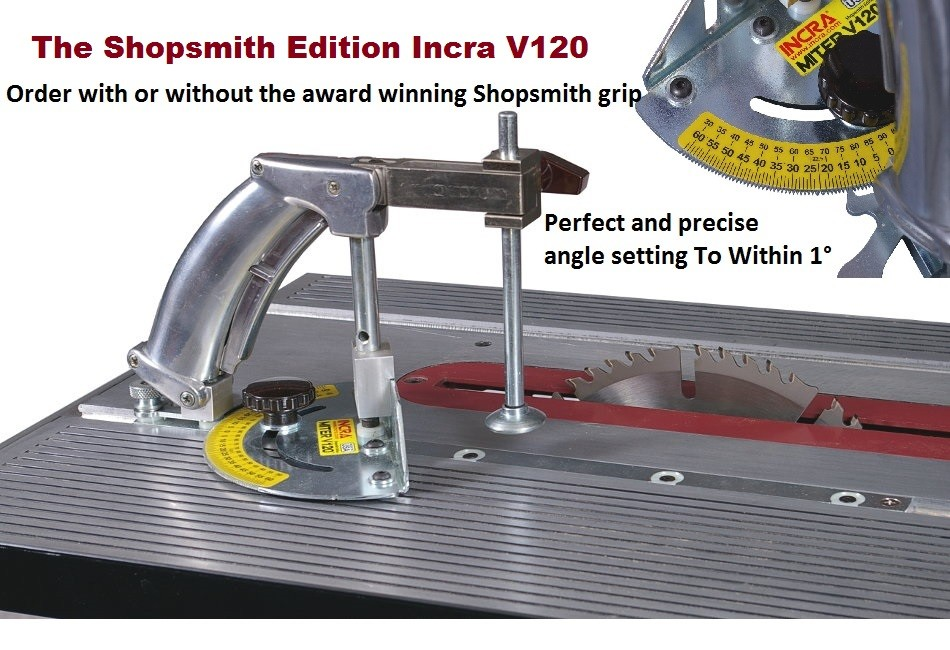 Incra V120 -- The ultimate tool for Precise Angles