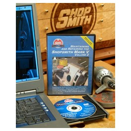 Maintaining & Repairing the Shopsmith MARK V DVD Volumes 1&2