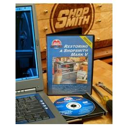 Restoring a Neglected Shopsmith MARK V DVD