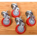 Retractable Casters Wheels comparison