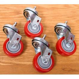 "Shopsmith Premium Casters 3"" Diameter (Set of 4)"