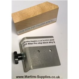Mitre Gauge stop block kit
