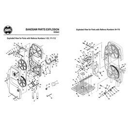 Part 110a Accessory Hub drive cover kit-Plastic