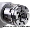 NOVA 75mm Bowl Chuck Accessory Jaw Set