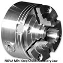 NOVA Mini Step Chuck Accessory Jaw Set