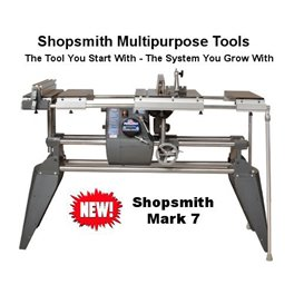 Shopsmith Mark 7 Power Pro complete machine