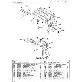 Saw Table Mk V 500 Part 153