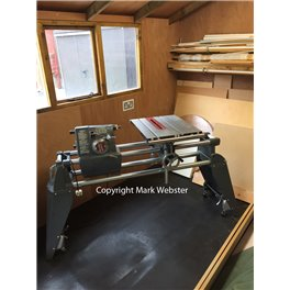 SHOPSMITH Mark V 510 MACHINE AND ACCESSORIES SOLD