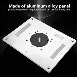 Shopsmith Pro Fence Router Table Aluminium insert NOW SOLD