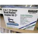 Central Pneumatic 2 in 1 18 gauge Brad Nailer or Stapler