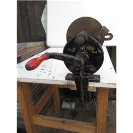 Vintage Crank operated Sharpening wheel