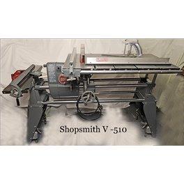 Shopsmith Mark V 510 plus Jointer and sliding table