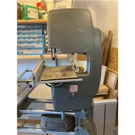 Bandsaw with Aluminium table, Fence & circle cutter USED