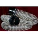 Dust Collector Premium Clear Hose 10 foot